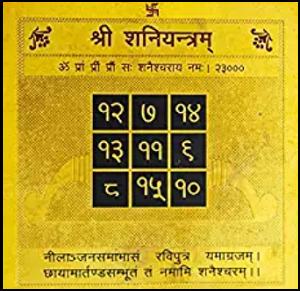 Shani Yantra online buy