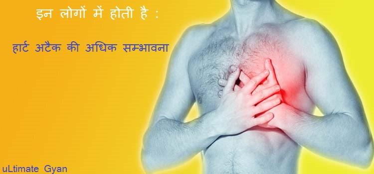Heart Attack Ki Adhik Sambhavana